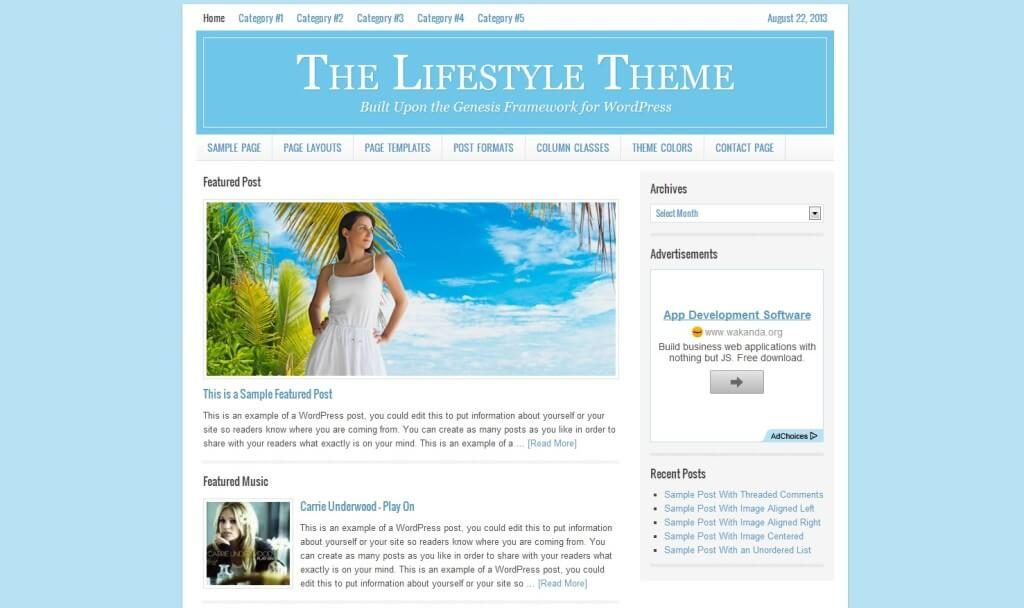 Top 10 Best WordPress Themes fro Pro Bloggers