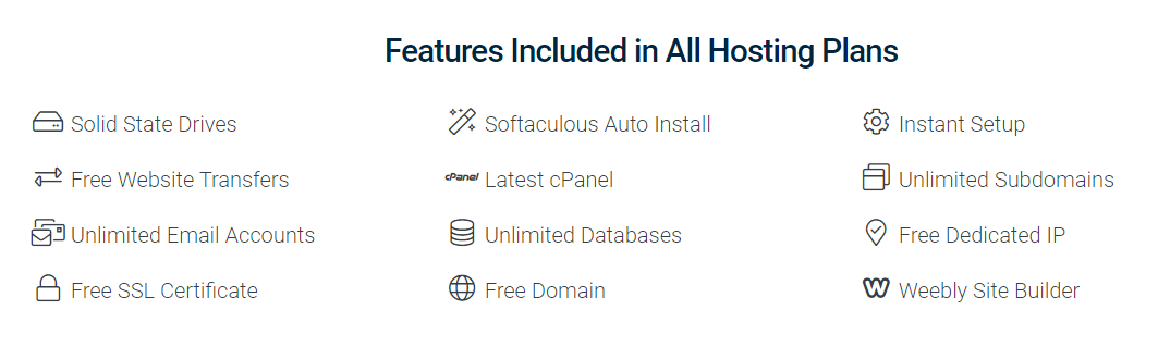 hostwinds vs bluehost features