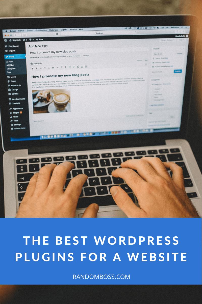 The Best WordPress Plugins for a Website