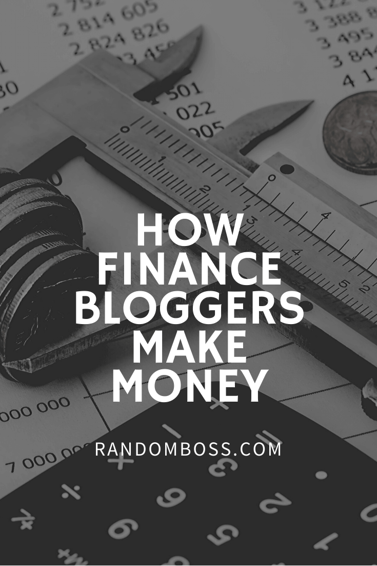 How Finance Bloggers Make Money