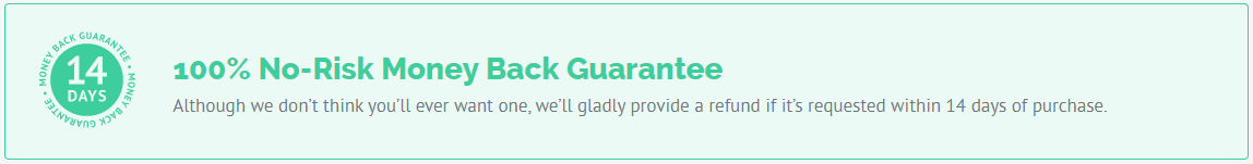 wprocket money back guarantee