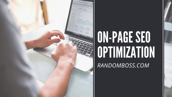 On-Page SEO optimization featured