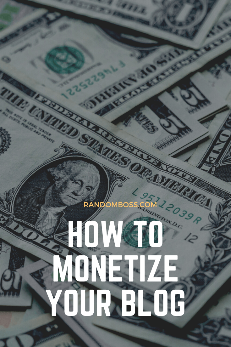 how to monetize a blog on wordpress