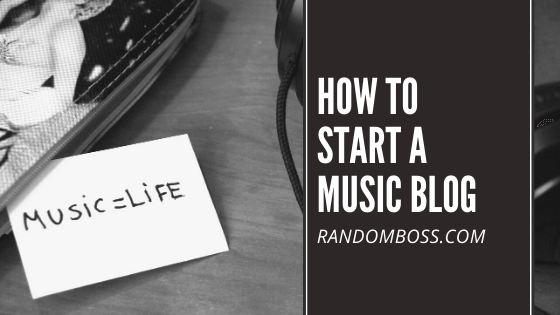 How To Start A Music Blog featured