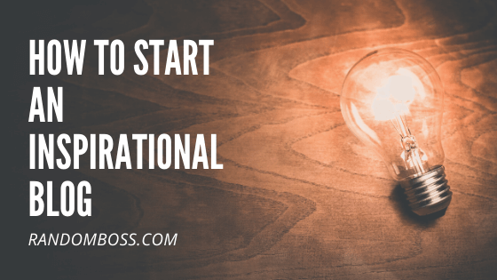 How to Start an Inspirational Blog featured